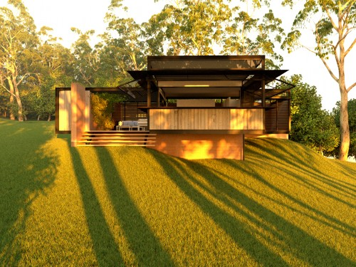 2 bed eco cabin